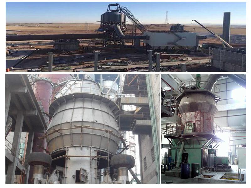 cement vertical mills