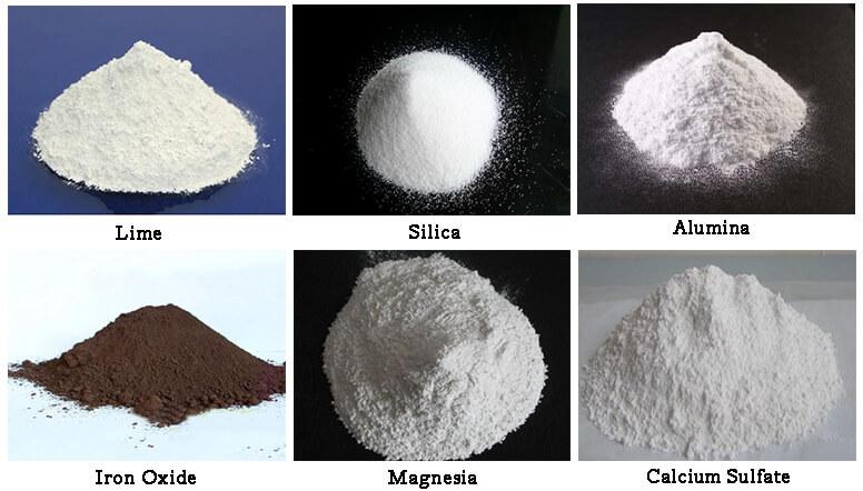 portland cement ingredients