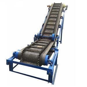 Large Angle Belt Conveyor Agico