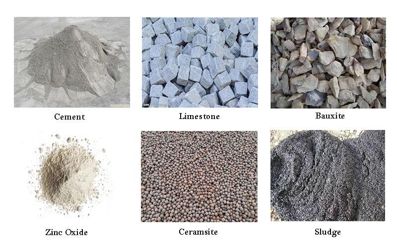 rotary kiln materials agico