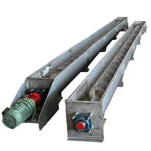 two screw conveyors