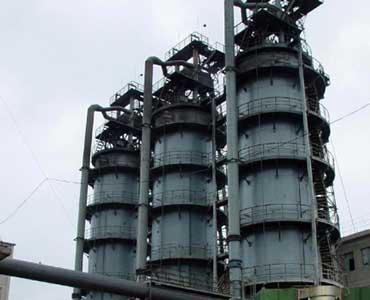 vertical kiln in agico cement plant