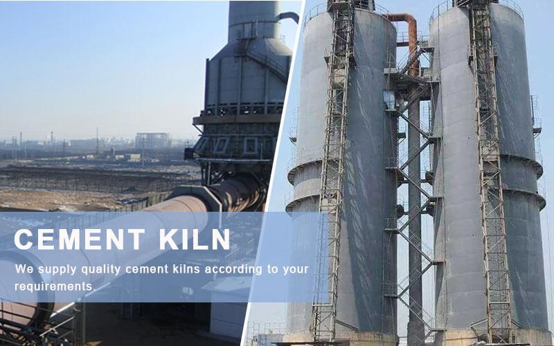 cement rotary kilns in agico cement plant