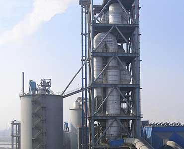 preheater in agico cement plant