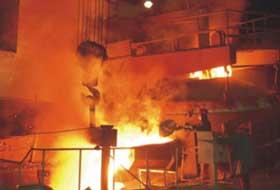 40t arc furnace