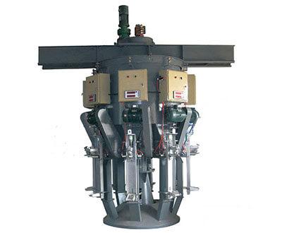 rotary cement packing machine