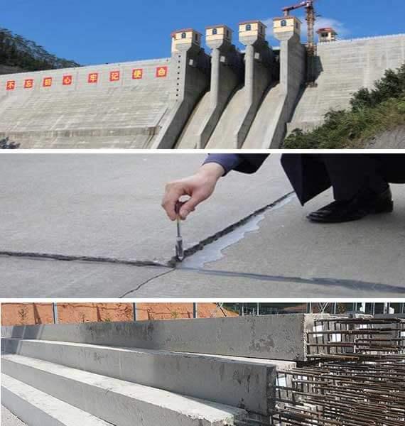 expansive cement application