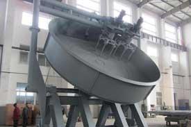 iron ore balling disc