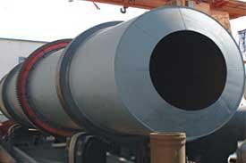 iron ore rotary drum mixer